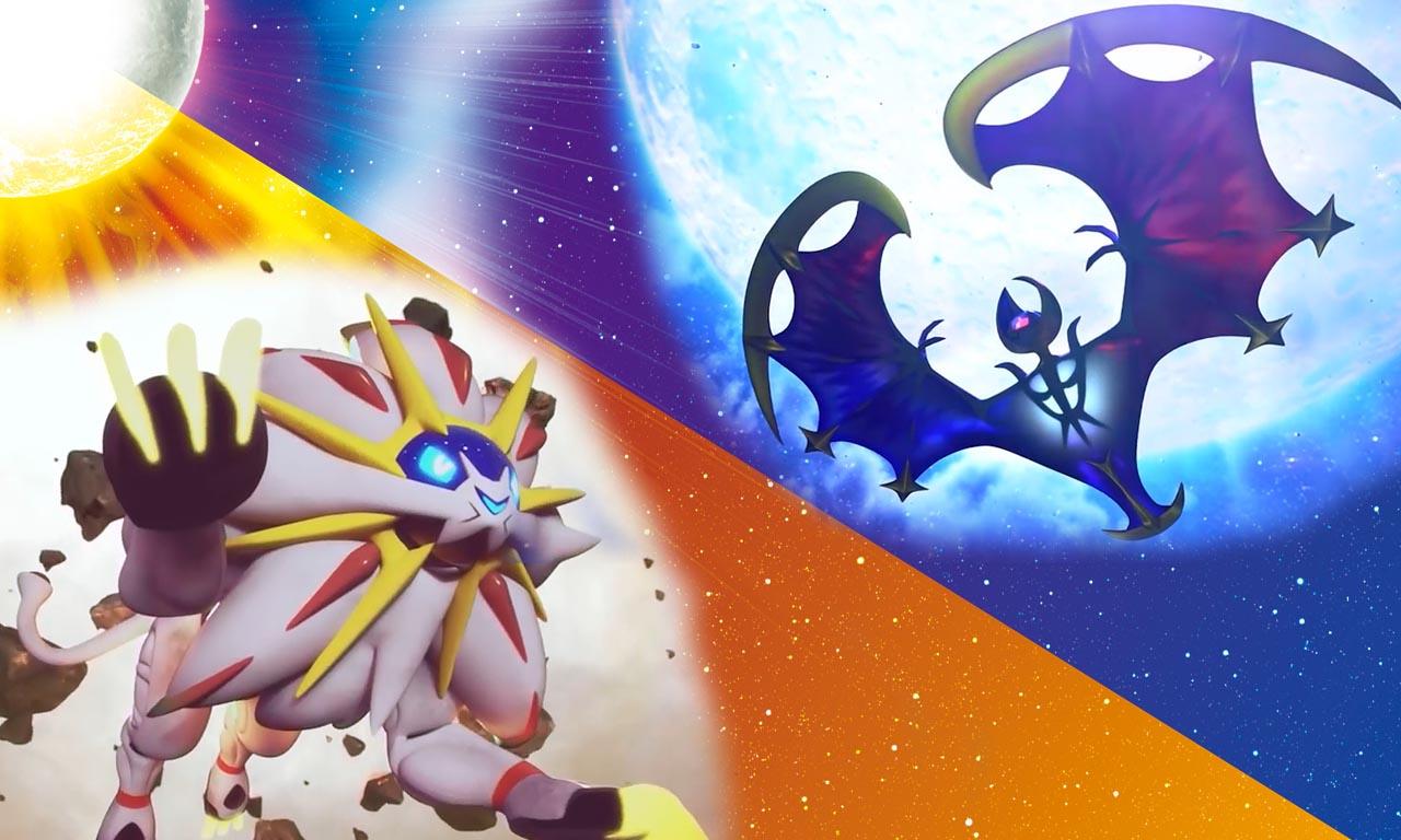 Les pok mon l gendaires de soleil et lune lunala solgaleo et magearna pokemaster - Image pokemon legendaire ...
